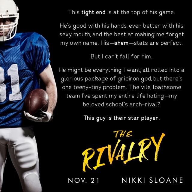 The Rivalry Instagram Blurb