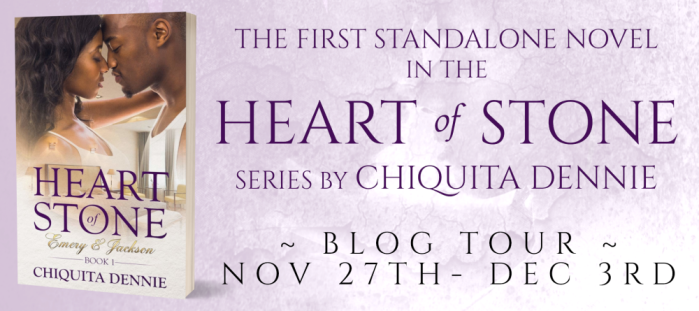 Tour Banner - Heart of Stone by Chiquita Dennie