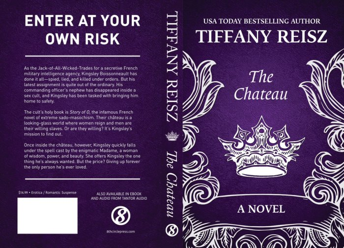 The Chateau Print Cover master document.indd