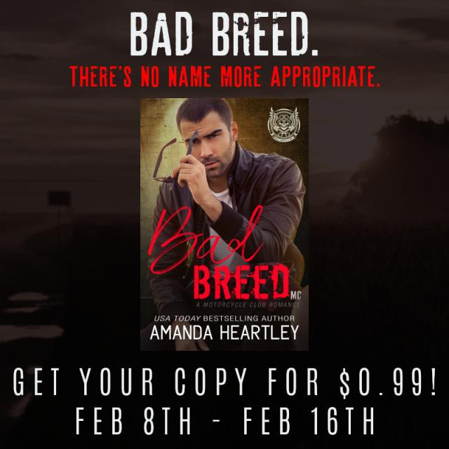 Instagram Graphic - Bad Breed by Amanda Heartley - 1