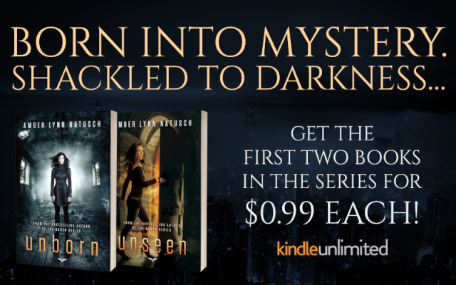 Promo Graphic - Unborn Series by Amber Lynn Natusch - $0.99 Series Sale - 1