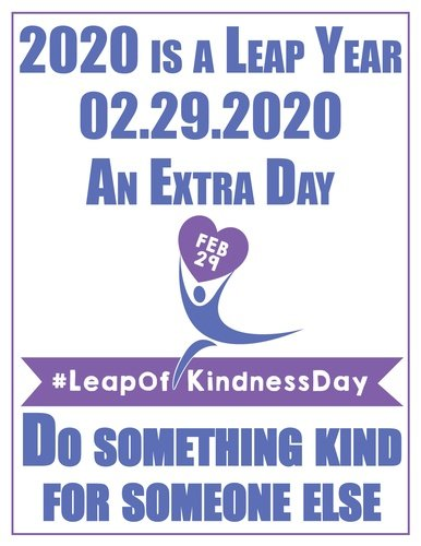 EventPhotoFull_Leap of Kindness Poster 2020